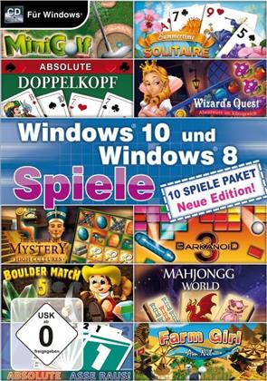 Windows 10 und Windows 8 Spiele - Neue Edition