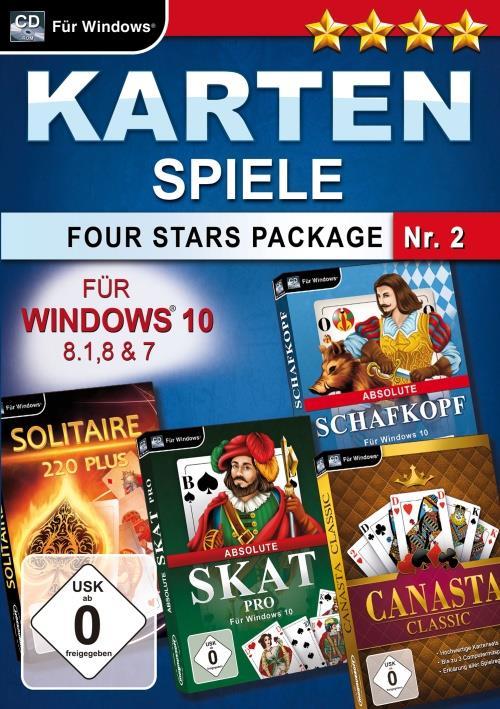 Kartenspiele Four Stars Package Nr. 2
