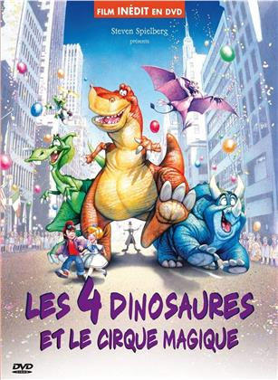 Les 4 dinosaures et le cirque magique (1993) ( Édition Digibook Collector , Digibook)