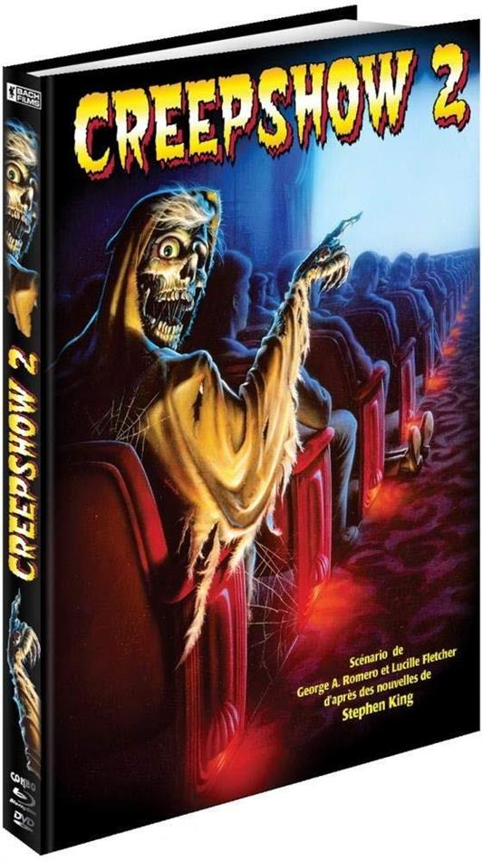 Creepshow 2 - Visuel Années 80 (1987) (Limited Edition, Mediabook, Blu-ray + DVD)