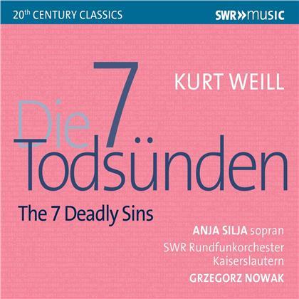 Anja Silja, Kurt Weill (1900-1950), Grzegorz Nowak & Swr Rundfunk Orchester Kaiserslautern - Die 7 Todsünden / The 7 Deadly Sins