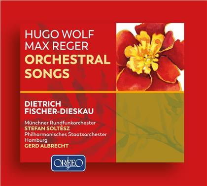 Dietrich Fischer-Dieskau, Hugo Wolf (1860-1903) & Max Reger (1873-1916) - Orchestral Songs (2 CDs)