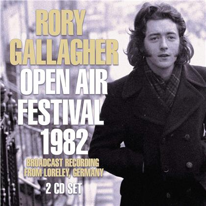 Rory Gallagher - Open Air Festival 1982 (2 CD)