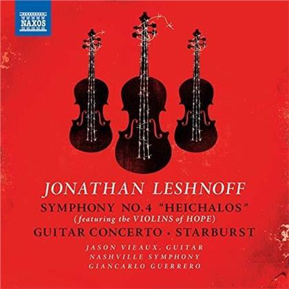 Jonathan Leshnoff (*1973), Giancarlo Guerrero, Jason Vieaux & Nashville Symphony - Symphonie Nr. 4 / Gitarrenkonzert