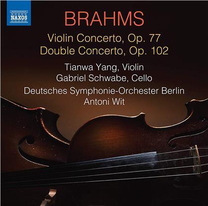 Tianwa Yang, Gabriel Schwabe, Johannes Brahms (1833-1897), Antoni Wit & Deutsches Sinfonie-Orchester Berlin - Violinkonzert / Doppelkonzert