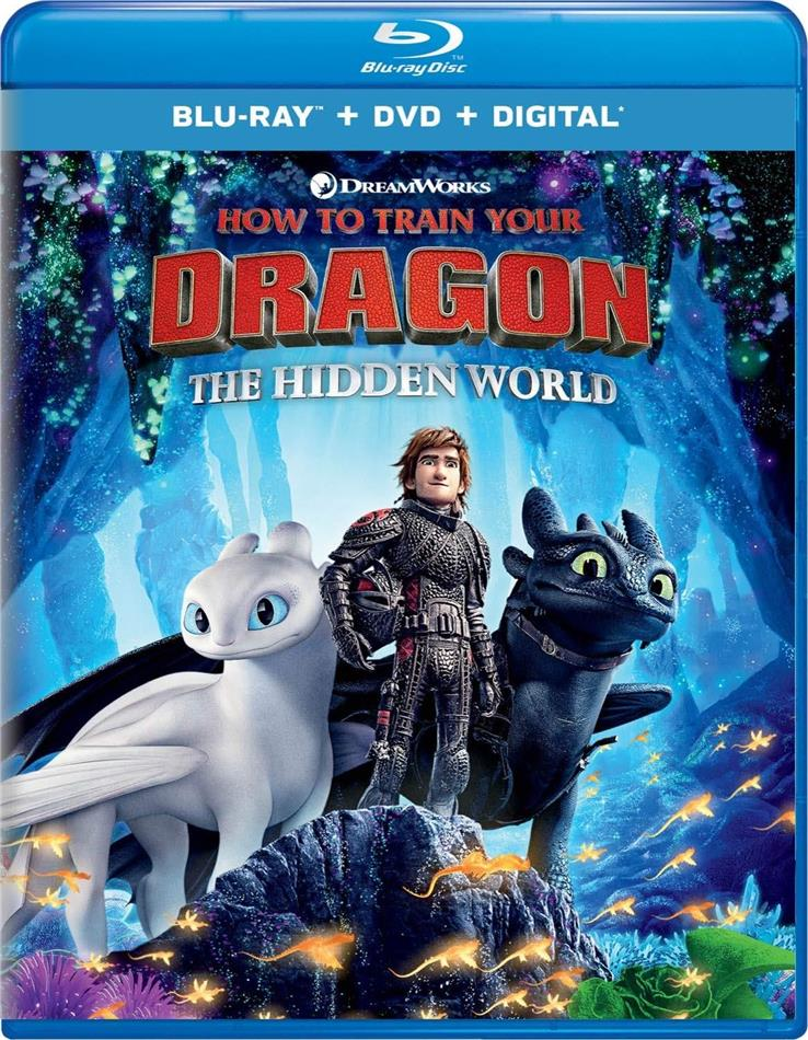 How To Train Your Dragon 3 - The Hidden World (2019) (Blu-ray + DVD)