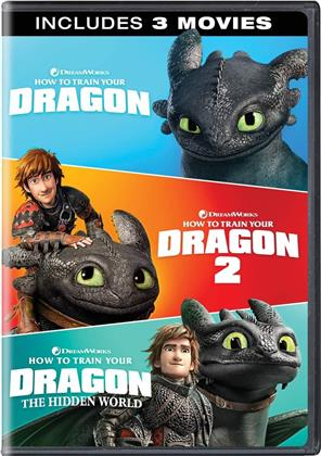 How To Train Your Dragon 1-3 (3 DVD)
