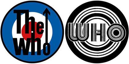 The Who Turntable Slipmat Set - Target (Retail Pack)