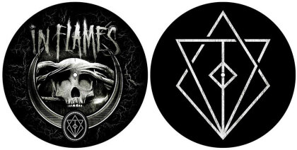 In Flames Turntable Slipmat Set - Battles (Retail Pack)