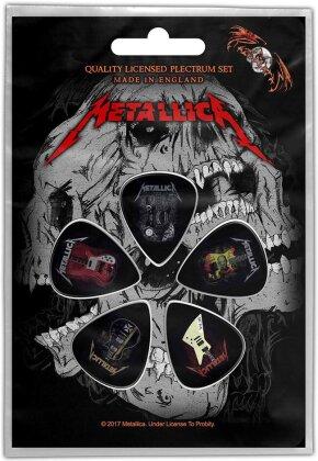 Metallica Plectrum Pack - Guitars (Retail Pack)