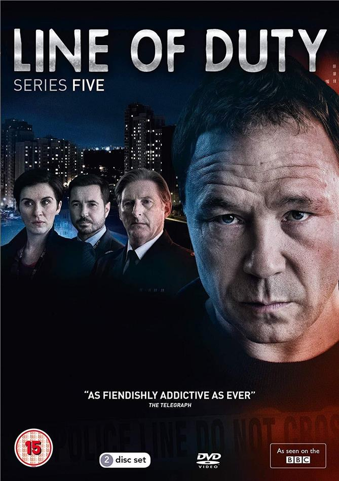 Line Of Duty - Series 5 (BBC, 2 DVDs)