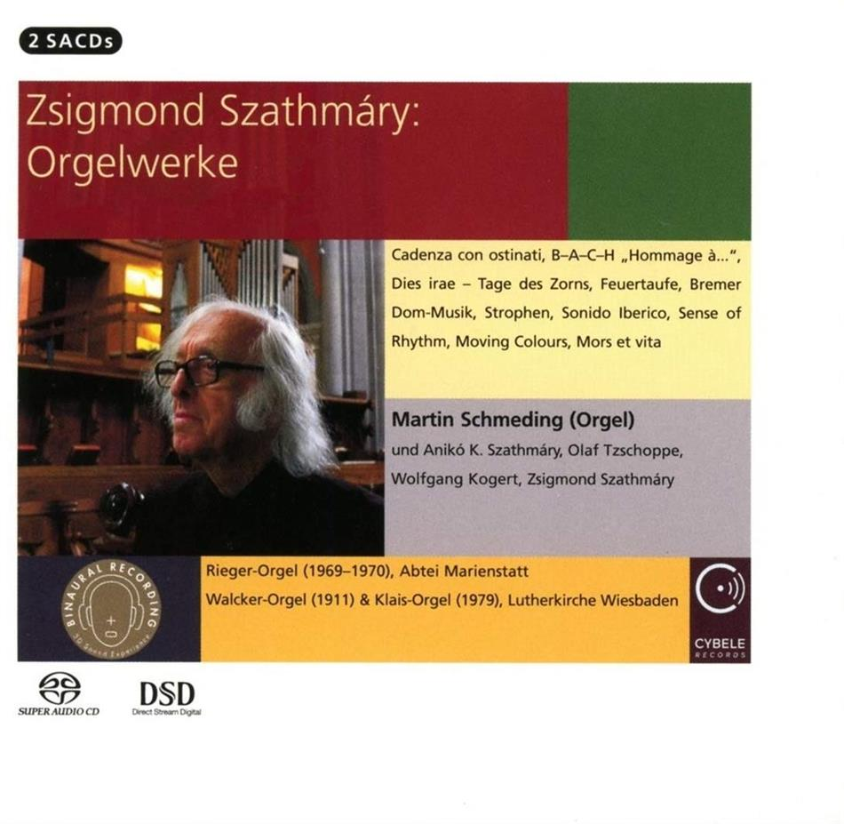Zsigmond Szathmáry (*1939) & Martin Schmeding - Orgelwerke (Hybrid SACD + SACD)
