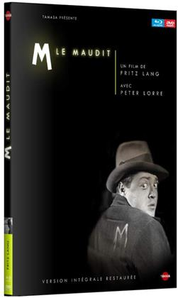 M le maudit (1931) (n/b, Digibook, Blu-ray + DVD)