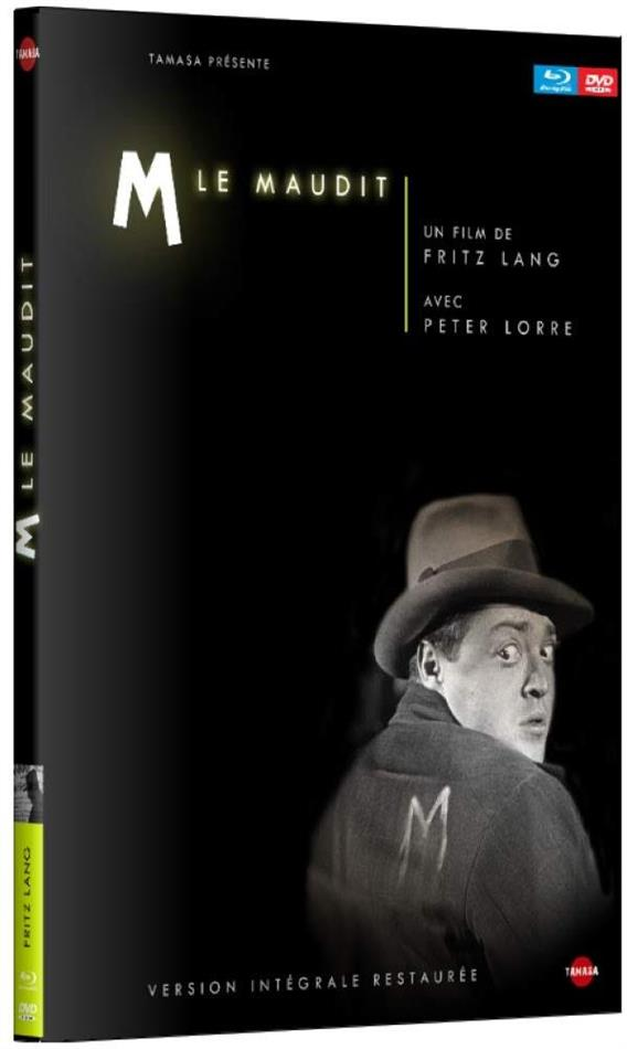 M le maudit (1931) (s/w, Digibook, Blu-ray + DVD)