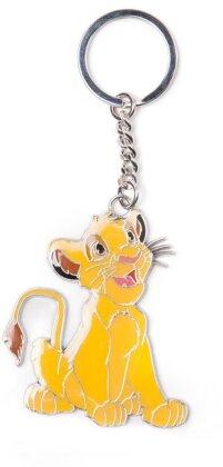 Porte-clef Métal - Simba - Le Roi Lion - 4 cm