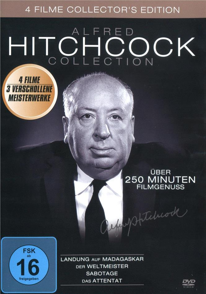 Alfred Hitchcock (Collector's Edition, 4 DVDs)