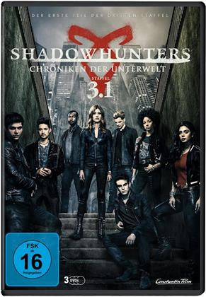 Shadowhunters - Chroniken der Unterwelt - Staffel 3.1 (3 DVDs)
