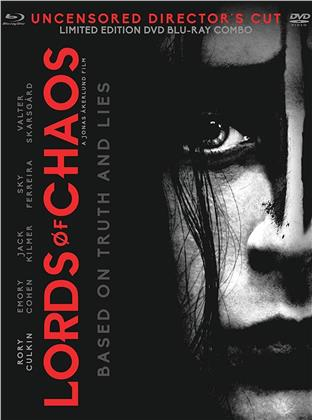 Lords Of Chaos (2018) (Non censurata, Director's Cut, Blu-ray + DVD)