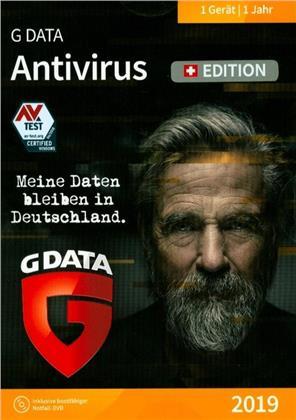 GData AntiVirus 2019 Swiss Edition (1 PC)