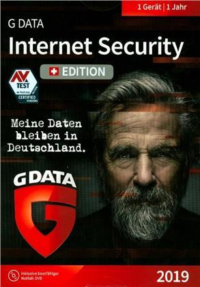 GData Internet Security 2019 Swiss Edition (1PC)