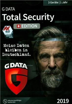 GData Total Security 2019 Swiss Edition (3 PC)