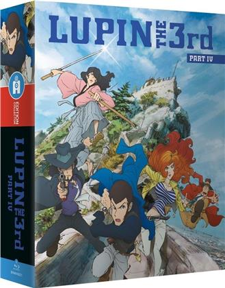 Lupin the Third - Part 4: L'aventure italienne (Box, Collector's Edition, 4 Blu-rays)