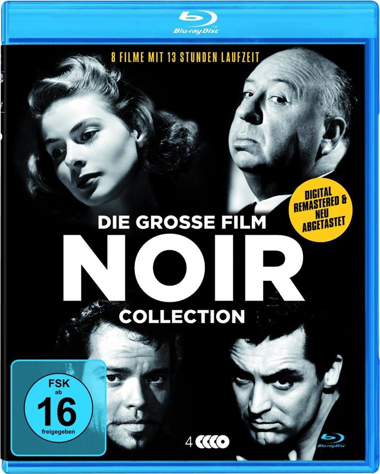 Die grosse Film Noir Deluxe-Collection (4 Blu-rays)