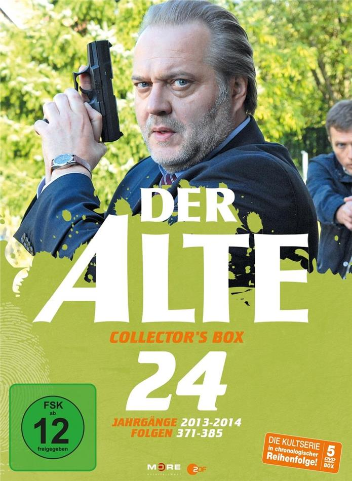 Der Alte - Collector's Box Vol. 24 (Collector's Edition, 5 DVDs)