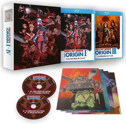 Mobile Suit Gundam - The Origin - Film I - IV (Collector's Edition, 2 Blu-rays)