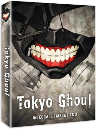 Tokyo Ghoul - Intégrale - Saison 1 & 2 (Box, 6 DVDs)