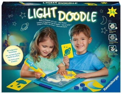 Light Doodle Moon & Stars