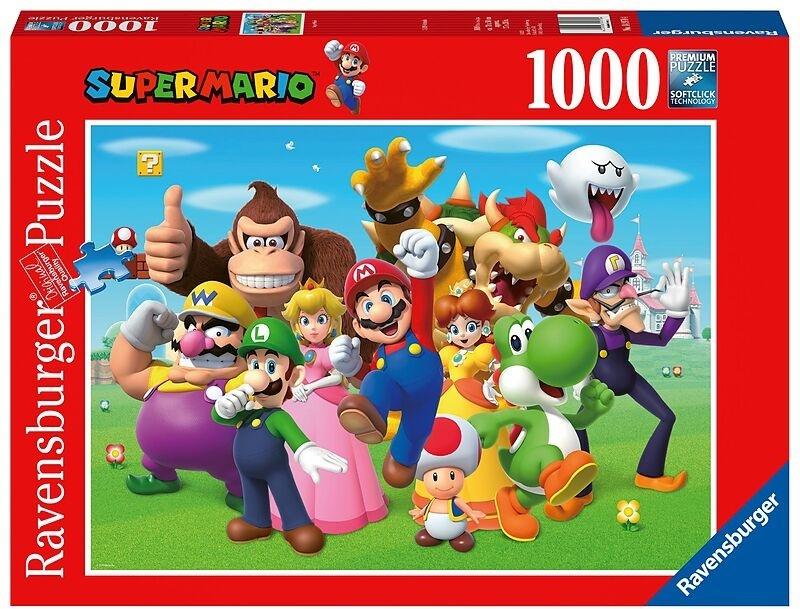 Super Mario - 1000 Teile Puzzle