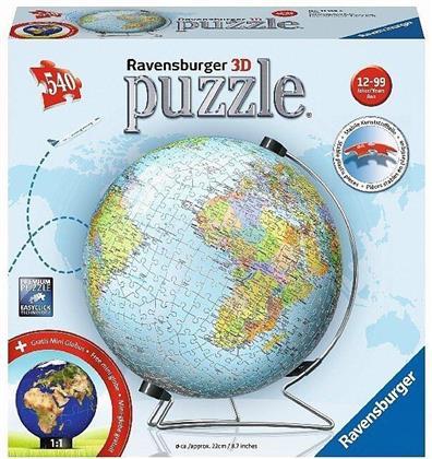 Globus - 3D Puzzle 540 Teile