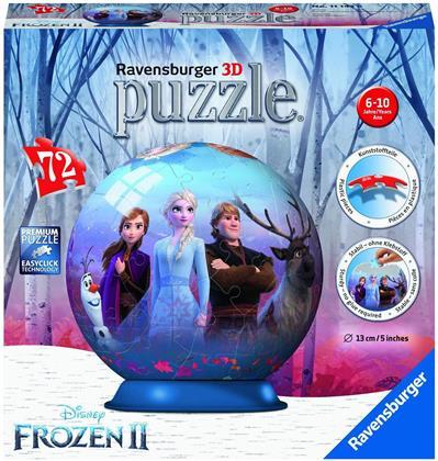 Disney Frozen 2 - 3D Puzzle Ball 72 Teile