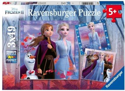 Disney Frozen 2 - Die Reise beginnt. Puzzle 3x49 Teile