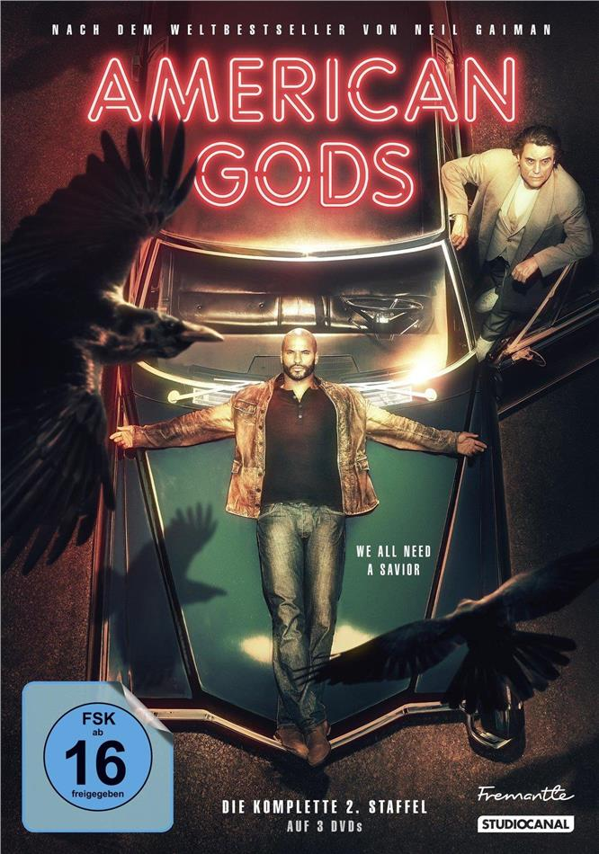 American Gods - Staffel 2 (Collector's Edition, 3 DVDs)