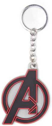 Avengers - Logo Rubber Keychain