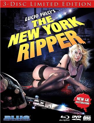 The New York Ripper (1982) (4K Mastered, Limited Edition, Blu-ray + DVD + CD)