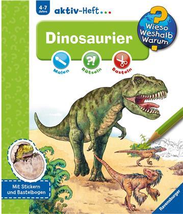 Dinosaurier, Aktiv-Heft - Wieso? Weshalb? Warum?