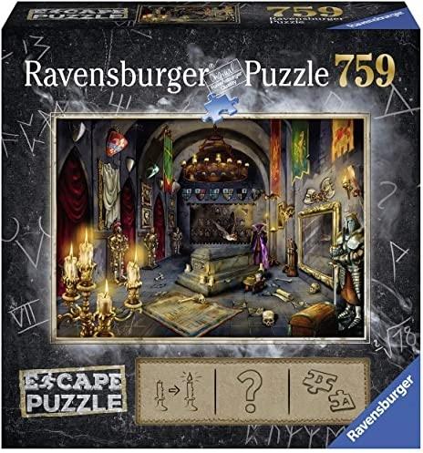 Escape Puzzle 6: Vampire Castle - 759 Teile Puzzle