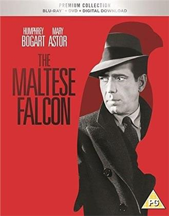 The Maltese Falcon (1941) (s/w, Premium Edition, Blu-ray + DVD)
