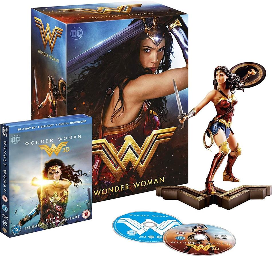 Wonder Woman (2017) (+ Figurine, Blu-ray 3D + Blu-ray)
