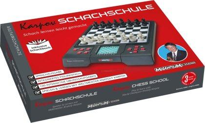 Karpov Schachschule - Schachcomputer inkl. Schachbuch