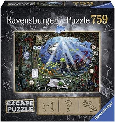Escape Puzzle 4: Im U-Boot - 759 Teile Puzzle