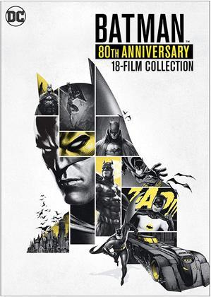 Batman - 8Oth Anniversay (18 DVDs)