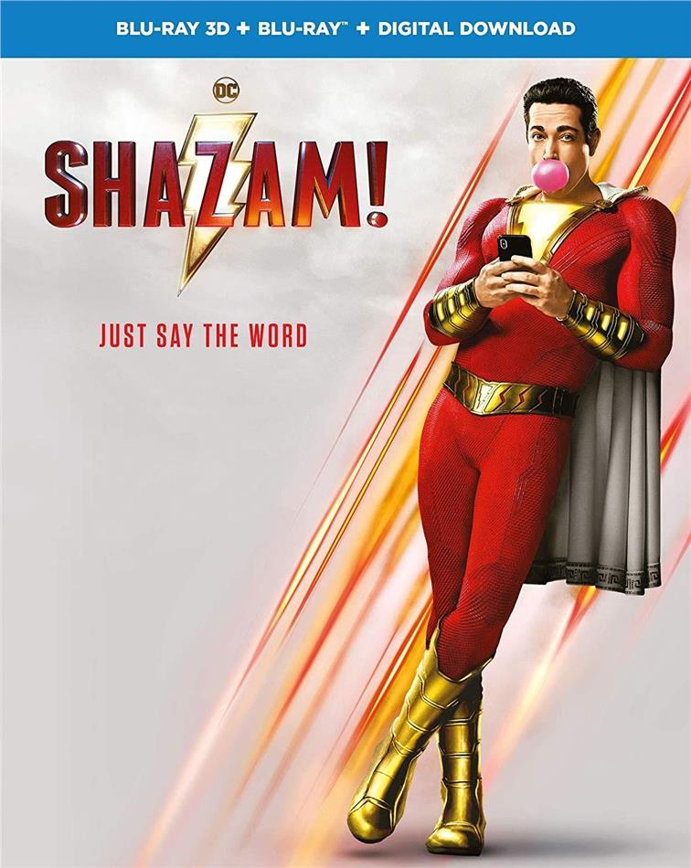 Shazam! (2019) (Blu-ray 3D + Blu-ray)