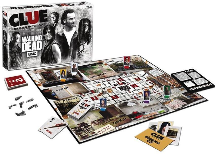 Cluedo The Walking Dead AMC