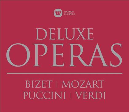 Maria Callas, Otto Klemperer, Victoria de los Angeles, Nicolai Gedda & Georges Pretre - Deluxe Operas Box - Carmen/Don Giovanni/Zauberflöte/ (12 CDs)