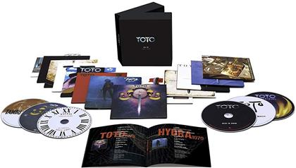 """Toto - All In - Incl. """"Live In Tokyo"""" EP and Album """"Old Is New"""" (Boxset, 13 CDs)"""