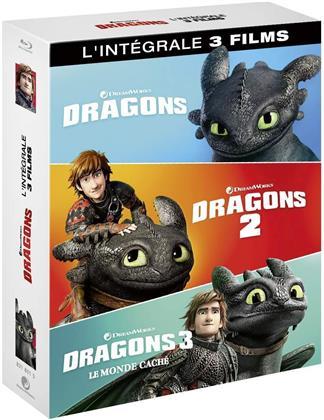 Dragons 1-3 - L'intégrale 3 Films (3 Blu-ray)
